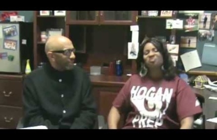 interview with Hogan Academy Principal Crystal Ward