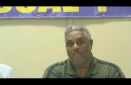 Service Employees International Union City Director Sherwin Carroll