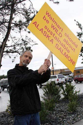ALASKA FISHERMEN PROTEST WAL-MART DECISION