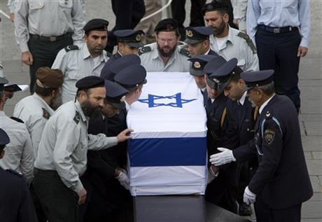 BODY OF ISRAEL'S ARIEL SHARON LIES IN STATE