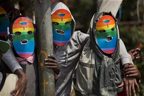 GAYS IN KENYA PROTEST AGAINST UGANDAN BILL