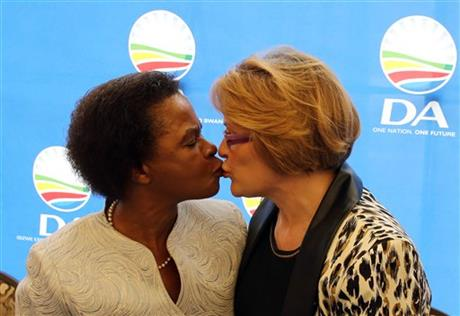 SOUTH AFRICAN OPPOSITION COALITION SPLITS