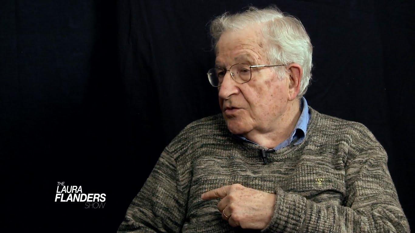 Noam Chomsky on Syria, China, Capitalism, and Ferguson