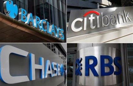 Banks fined more than $5B, to plead guilty to market rigging