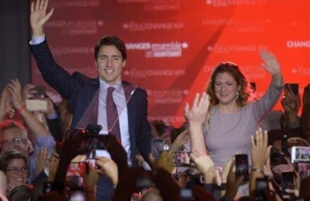 Son of late PM Pierre Trudeau becomes Canada's new leader