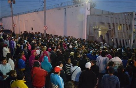 52 dead, 12 injured in riot at northern Mexico prison