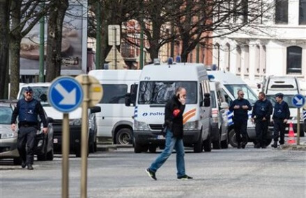 Brussels authorities charge 2, detain 3 others over attacks