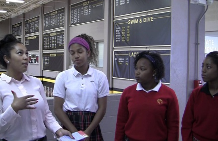 Interview With St. Teresa Academy Gabby Wimes, Pria Jean-Baptiste,and Tone Nae Toomer