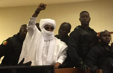 Chad ex-dictator found guilty, sentence to life for abuses