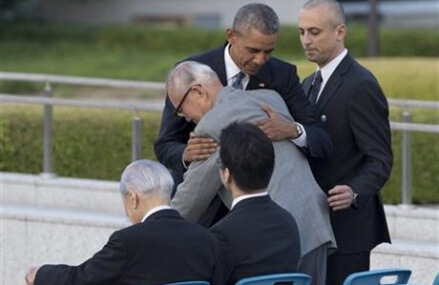Obama uses Hiroshima visit as opportunity to urge no nukes