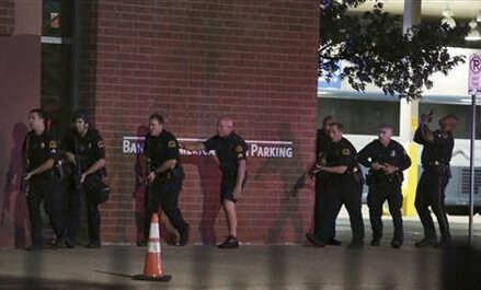 Police: 5 officers dead, 7 hurt in Dallas protest shooting