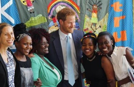 Prince Harry says world must revive urgency in AIDS fight