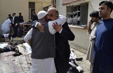 The Latest: Breakaway Taliban faction claims Quetta bombing