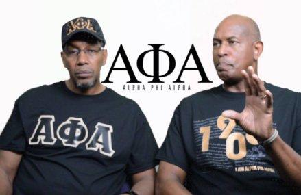 Nathaniel Friends and Arnold Gordon-Bray  Men Of Alpha Phi Alpha