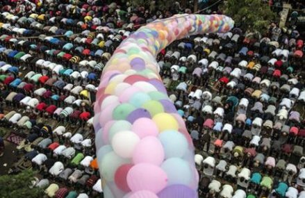 Muslims mark start of Eid al-Adha holiday