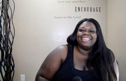 CMG street team interviews Aisha Ogletree