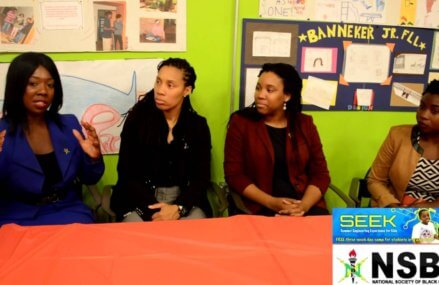 "Interview with Kia Croom, Trina Fletcher and Kendra Allen.""National Society of Black Engineers"""