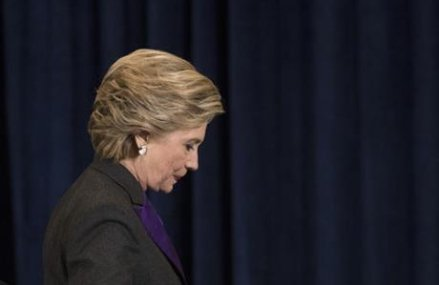 Clinton blames FBI director for presidential election loss