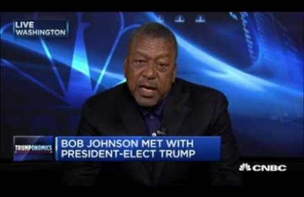 Bob Johnson On Trump Meeting: We Focused On The Business Issues